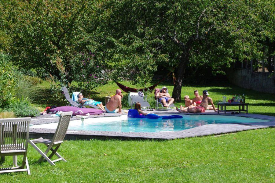 chambres d'hôtes piscine
